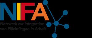 Logo NIFA – Netzwerk zur Integration von Flüchtlingen in Arbeit